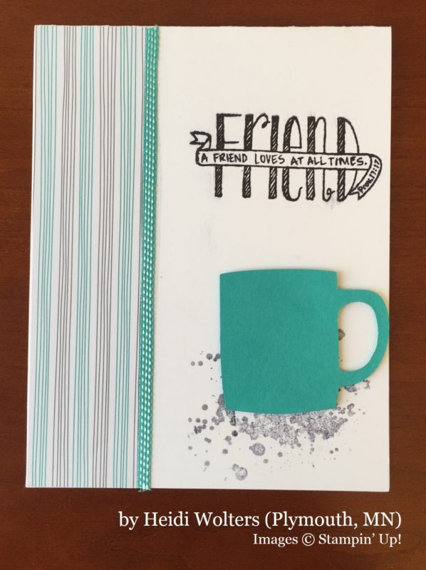 Heidi Wolters, Plymouth MN, Stampin' Up!, card swap