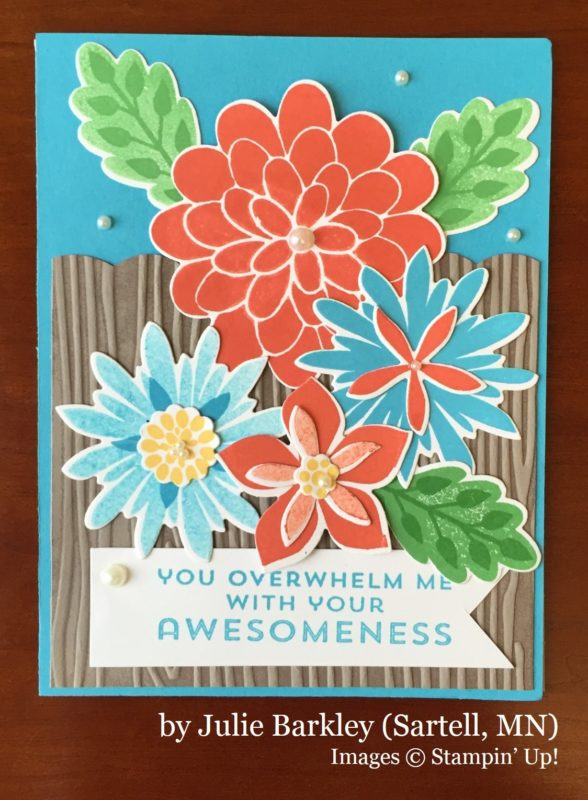 Julie Barkley, Sartell MN, Stampin' Up!, card swap