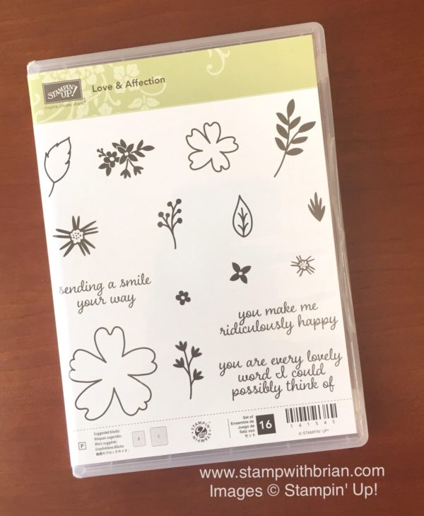 Love & Affection, Stampin' Up!, Brian King