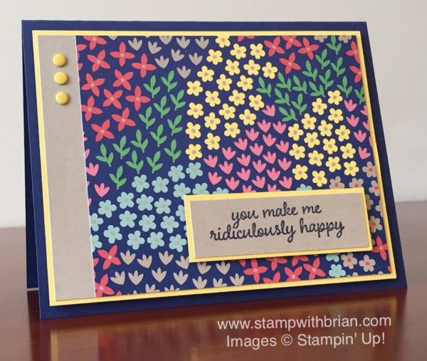 Love & Affection, Stampin' Up!, Brian King, FMS234