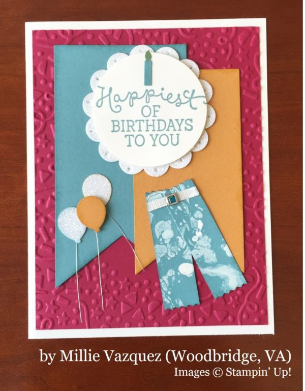 Millie Vazquez, Woodbridge VA, Stampin' Up!, card swap
