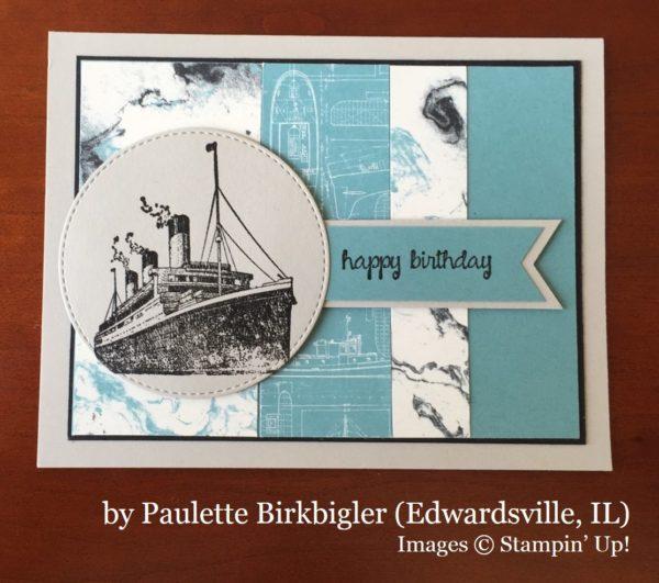 Paulette Birkbigler, Edwardsville IL, Stampin' Up!, card swap