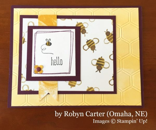 Robyn Carter, Omaha NE, Stampin' Up!, card swap