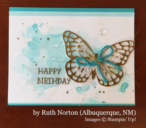 Ruth Norton, Albuquerque NM, Stampin' Up!, card swap