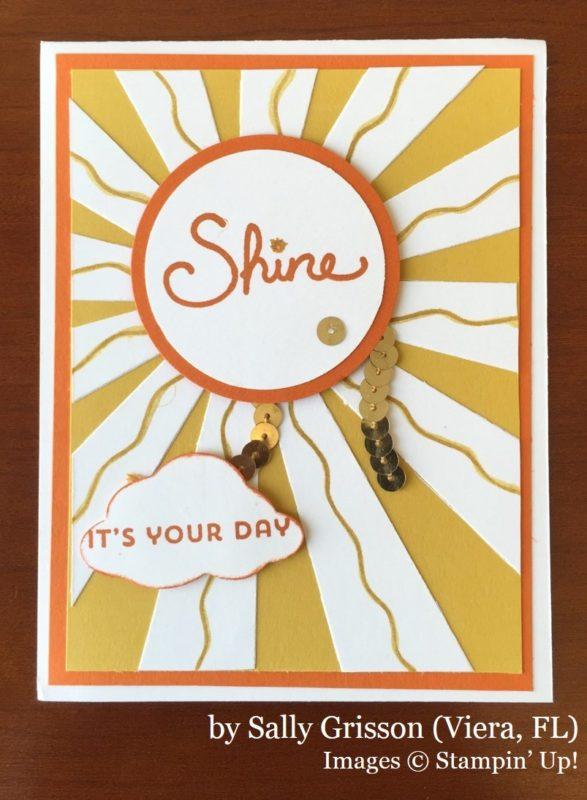 Sally Grisson, Viera FL, Stampin' Up!, card swap