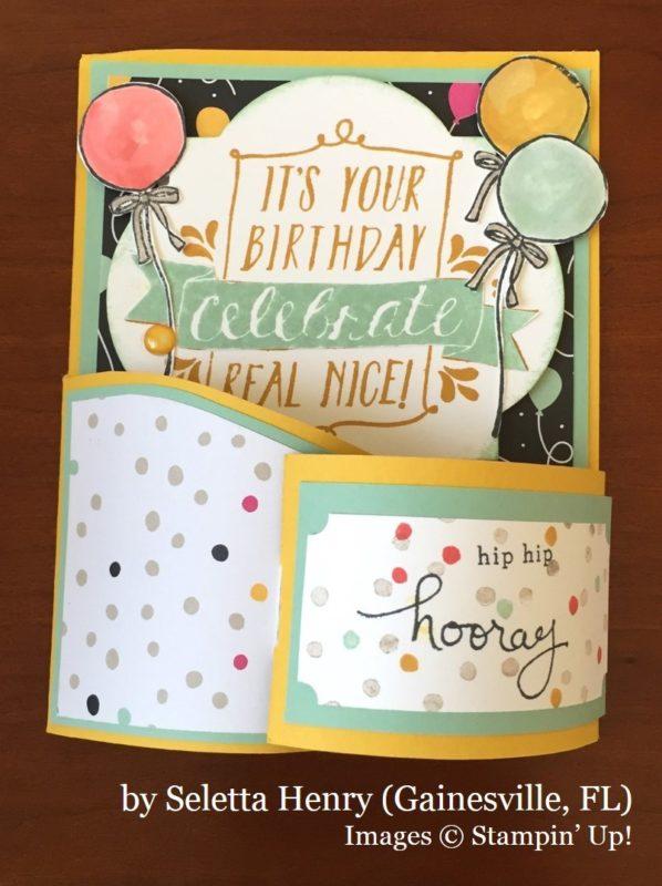 Seletta Henry, Gainesville FL, Stampin' Up!, card swap