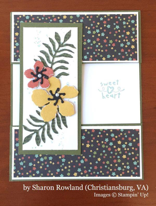 Sharon Rowland, Christiansburg VA, Stampin' Up!, card swap