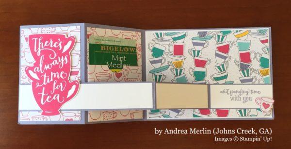 Andrea Merlin, Johns Creek GA, Stampin' Up!, card swap