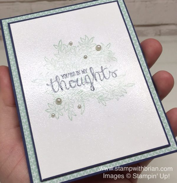 Awesomely Artistic, Best Thoughts, Stampin' Up!, Brian King, GDP034
