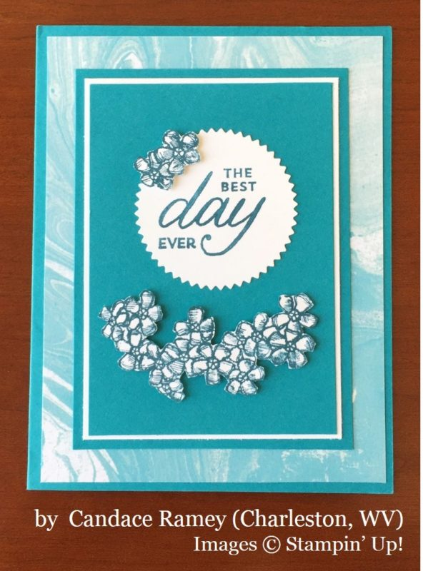 Candace Ramey, Charleston WV, Stampin' Up!, card swap