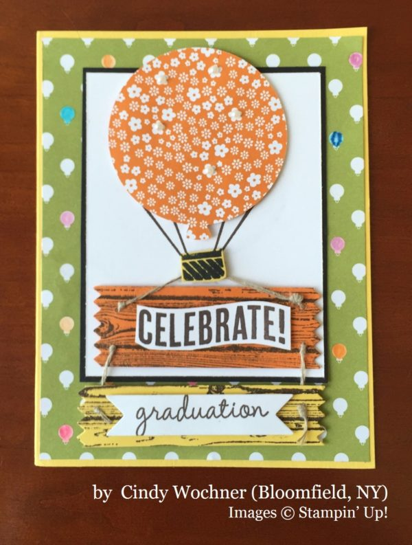 Cindy Wochner, Bloomfield NY, Stampin' Up!, card swap