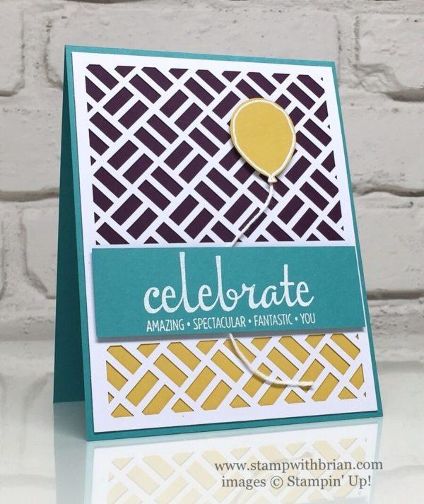 Fabulous Four, Balloon Celebration, Stampin' Up!, Brian King, FabFri88