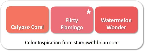 Flirty Flamingo - compared to Calypso Coral and Watermelon Wonder