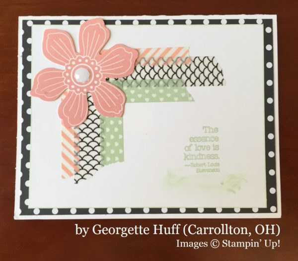Georgette Huff, Carrollton OH, Stampin' Up!, card swap