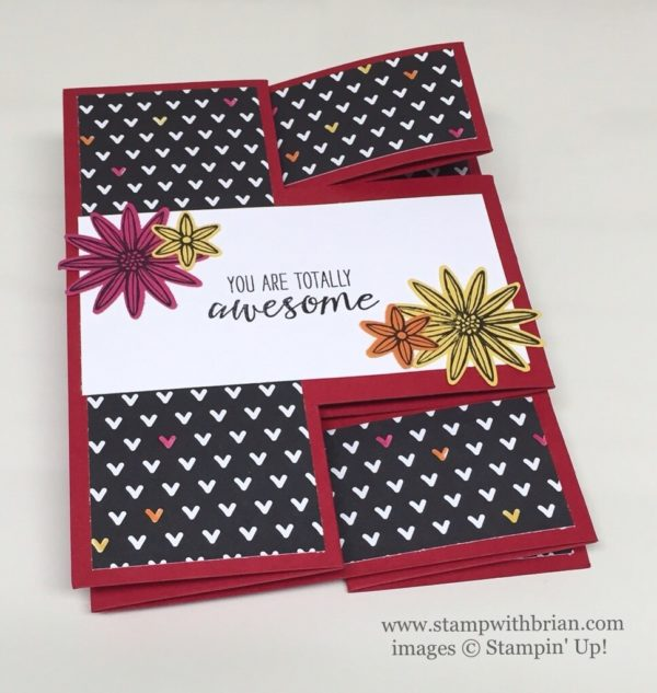 Grateful Bunch, Tri-Fold Card, Stampin' Up!, Brian King