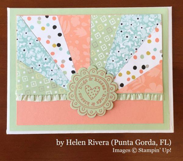 Helen Rivera, Punta Gorda FL, Stampin' Up!, card swap