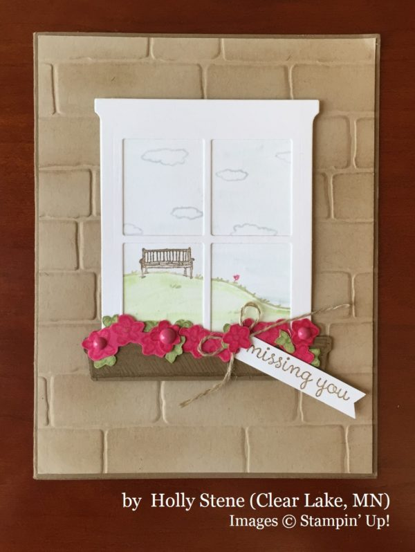 Holly Stene, Clear Lake MN, Stampin' Up!, card swaps
