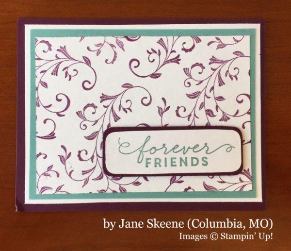 Jane Skeene, Columbia MO, Stampin' Up!, card swap