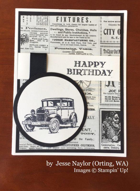Jesse Naylor, Orting WA, Stampin' Up!, card swap