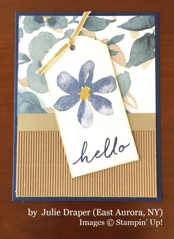 Julie Draper, East Aurora NY, Stampin' Up!, card swap