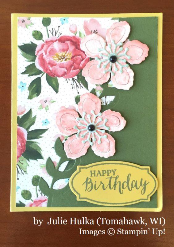 Julie Hulka, Tomahawk WI, Stampin' Up!, card swap