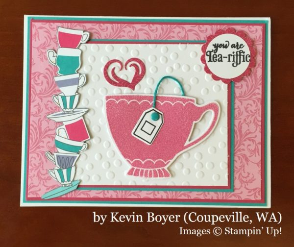 Kevin Boyer, Coupeville WA, Stampin' Up!, card swap