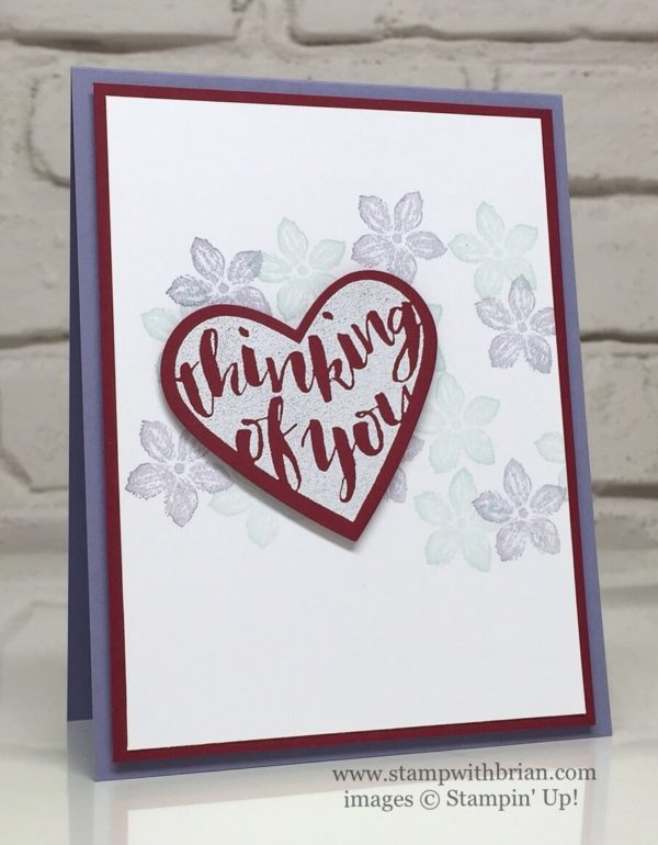 Pop of Paradise, Petite Petals, Stampin' Up!, Brian King, CTS174