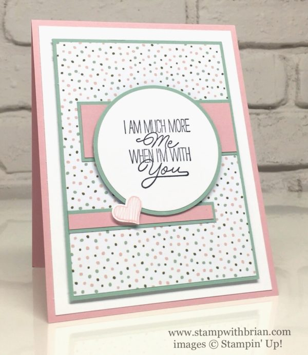 Layering Love, Something to Say, Stampin' Up!, Brian King, PPA302
