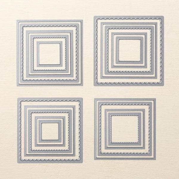 Layering Squares Framelits, Stampin' Up!