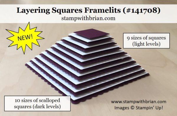 Layering Squares, Stampin' Up!, Brian King