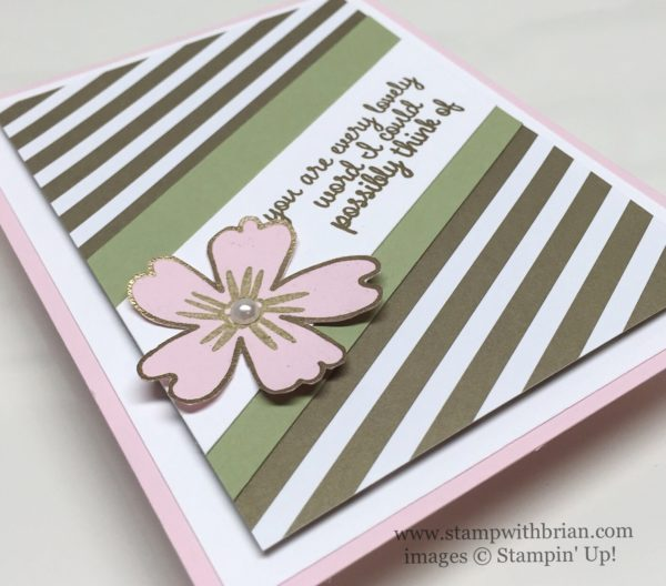Love & Affection, Stampin' Up!, Brian King, PPA299