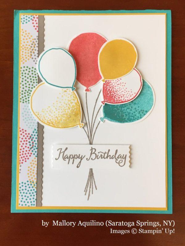 Mallory Aquilino, Saratoga Springs NY, Stampin' Up!, card swap