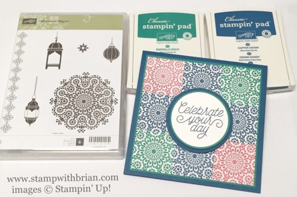 Moroccan Nights, Designer Tin of Cards, Stampin' Up!, Brian King