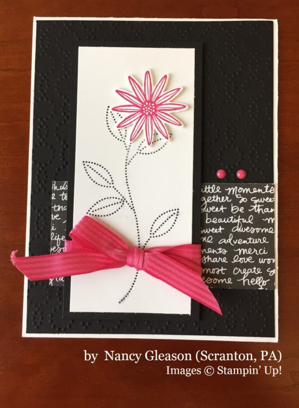 Nancy Gleason, Scranton PA, Stampin' Up!, card swap