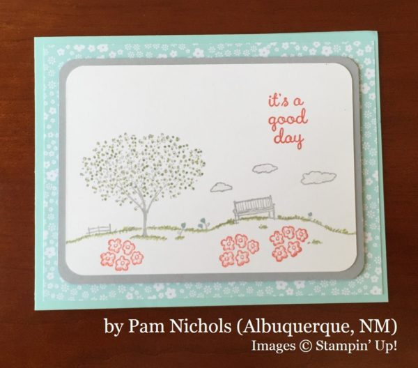 Pam Nichols, Albuquerque NM, Stampin' Up!, card swap