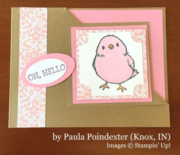 Paula Poindexter, Knox IN, Stampin' Up!, card swap
