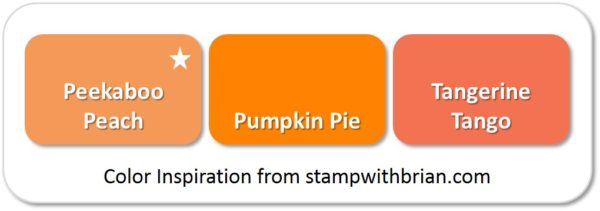 Peekaboo Peach - compared to Pumpkin Pie and Tangerine Tango