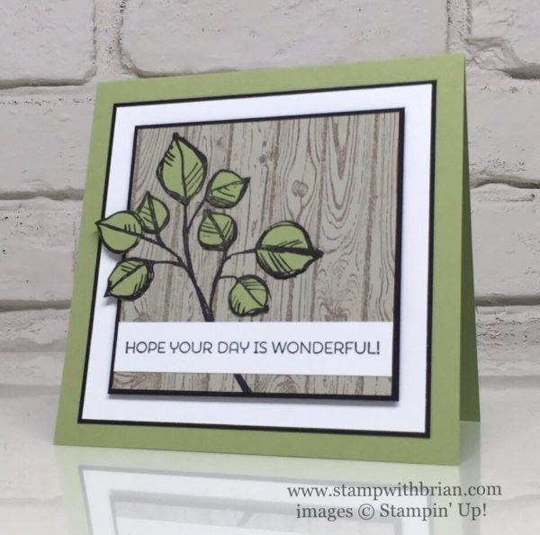 Remarkable You, Cottage Greetings, Hardwood, Stampin' Up!, Brian King, CYCI120