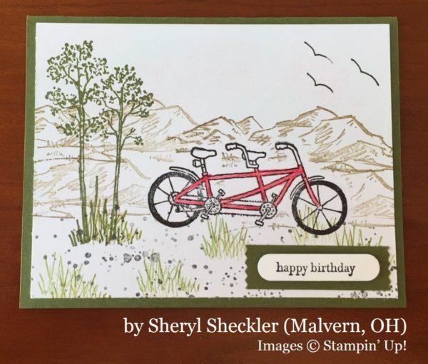 Sheryl Sheckler, Malvern OH, Stampin' Up!, card swap