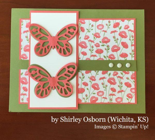 Shirley Osborn, Wichita KS, Stampin' Up!, card swap