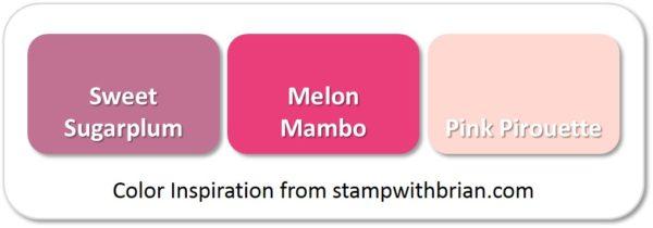 Sweet Sugarplum, Melon Mambo, Pink Piroutte