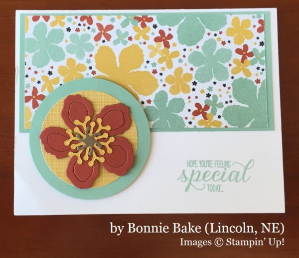 Bonnie Bake, Lincoln NE, Stampin' Up!, card swap