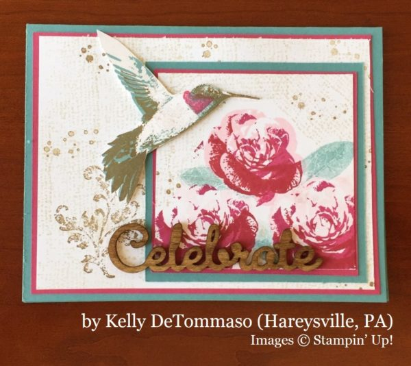 Kelly DeTommaso, Harleysville PA, Stampin' Up!, card swap