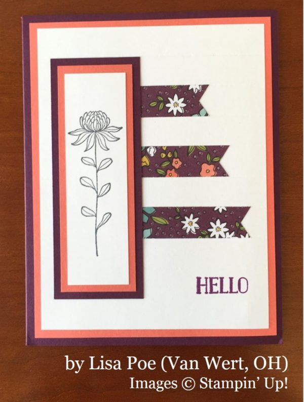 Lisa Poe, Van Wert OH, Stampin' Up!, card swap