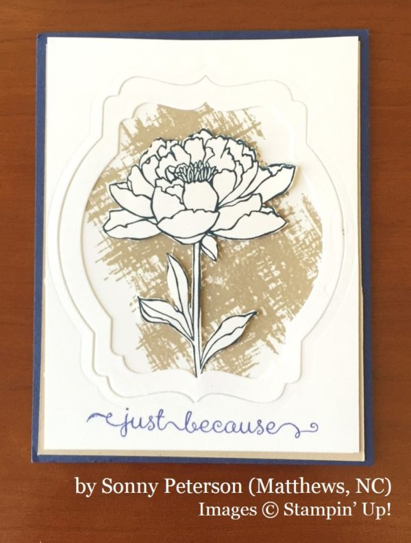 Sonny Peterson, Matthews NC, Stampin' Up!, card swap