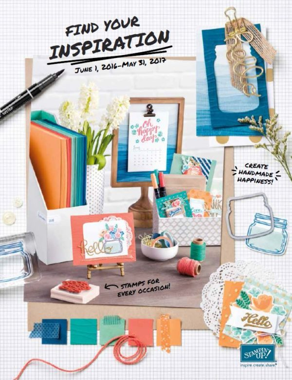 Stampin' Up!'s 2016 Annual Catalog