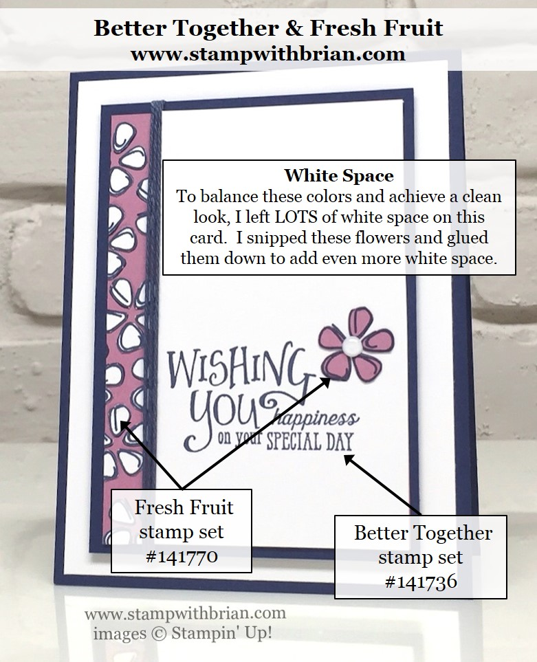 Better Together, Fresh Fruit, Stampin' Up!, Brian King, GDP041