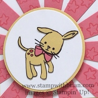 Bunditty, Made with Love, Happy Happenings, Stampin' Up!, Brian King, MIX178
