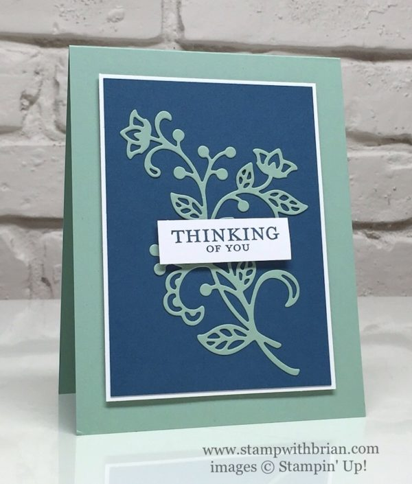 Embellished Ornaments, Flourish Thinlits, Stampin' Up!, Brian King