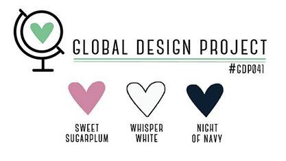 Stampin' Up! Color Inspiration: Sweet Sugarplum, Whisper White, Night of Navy